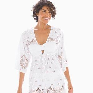 "🏖Dotti ""Santorini"" Swimsuit Cover-up, White (New)"